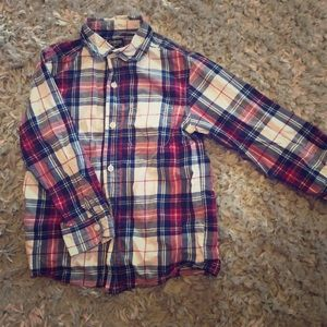 Boys plaid button up